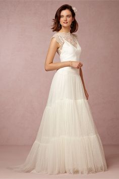 Margot Gown in Bride Wedding Dresses Sleeves at BHLDN