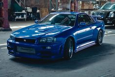 """Nissan Skyline GT-R R34 from """"The Fast and the Furious"""""""