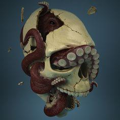 ArtStation - fractured skull, Pavel Budnik