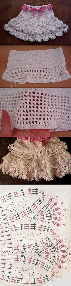 Baby Crochet Patterns Part 33 - Beautiful Crochet Patterns and Knitting Patterns Crochet Chart, Crochet Stitches, Knit Crochet, Knitting Patterns, Crochet Patterns, Skirt Patterns, Coat Patterns, Blouse Patterns, Sewing Patterns