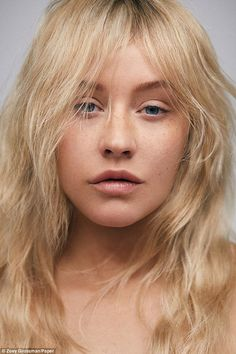 Is that really you? Glam queen Christina Aguilera was unrecognizable for the cover of Paper magazine as she went without makeup