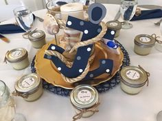 Project Nursery - Nautical Baby Shower Centerpiece - Project Nursery