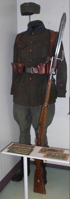 Ukrainian infantry uniform 1919