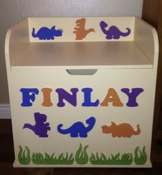 Mdf toy box