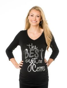 Motherhood Maternity The Best Is Yet To Come Maternity Tee