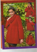 "Photo from album ""Tejido practico Crochet on Yandex. Knit Crochet, Crochet Patterns, Album, Knitting, Blouse, Model, Sweaters, Vintage, Beautiful"