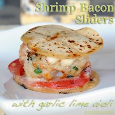 Forget bacon wrapped shrimp. This slider made with shrimp