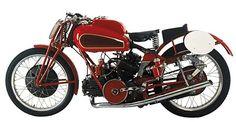 Guzzi's championship-winning V-twin 500GP bike from 1933-1951. The inspiration for Dr. Taglioni's Ducati V-twins