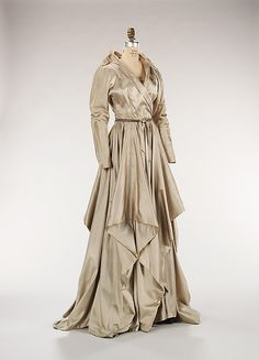 Evening dress, Mme. Eta Hentz, fall/winter 1948, American, silk