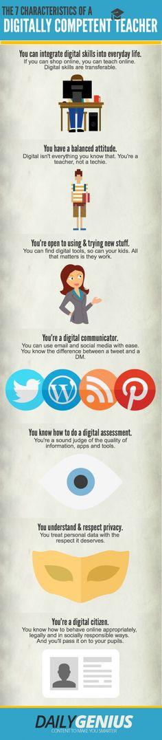 7 Characteristics of A Digitally Competent Teacher