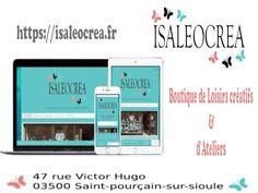 Site Isaleocrea totalement Responsive pour mieux vous accueillir Totalement, Elementary Schools, Auvergne