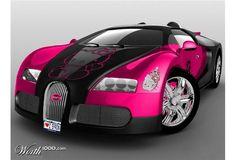 Wish   Hello Kitty Car