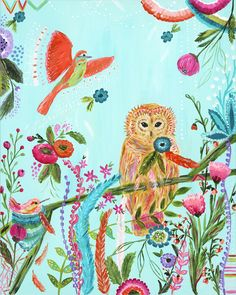 Serendipity Owl Bari J. Designs
