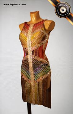 Latin Ballroom Dresses, Ballroom Hair, Ballroom Dance, Vestidos Flapper, Ballroom Costumes, Great Gatsby Fashion, Figure Skating Dresses, Dance Wear, Fashion Dresses