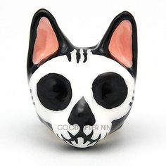 Mori Skull Cat Ring