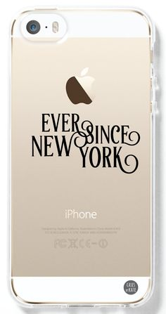Ever Since New York Harry Styles Transparent Interchangeable Phone Case by Cases by Kate