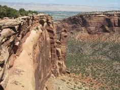 Colorado National Monument- a hidden treasure with gorgeous hiking and breathtaking views!