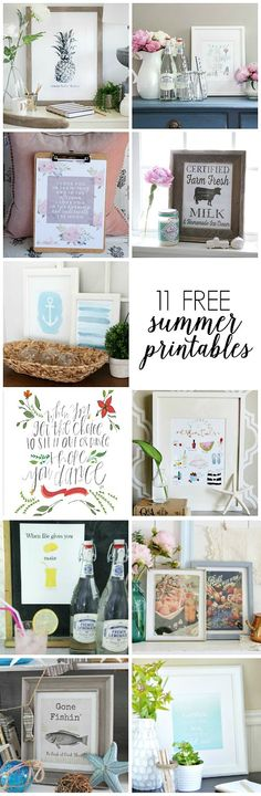 A Burst of Beautiful: Summer Printable & Vignette {Blog Hop}