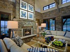Exotic Ethnic Chic Living Room Decoration
