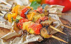 Arrosticini di verdure panate ricetta sfiziosa veloce