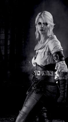 Female swordsman William Higinbotham developed an analogue computer with vacuum tube at the New The Witcher 3, The Witcher Wild Hunt, The Witcher Geralt, The Witcher Books, Witcher Art, Chica Fantasy, Fantasy Girl, Fantasy Women, Fantasy Characters