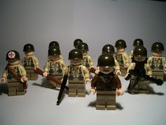 Lego WWII Army Men/oh where can I FIND these.