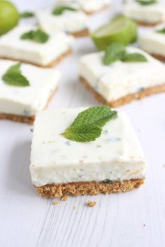 Mojito cheesecake bars – Mrs B's Kitchen