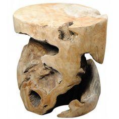 tabouret bois massif
