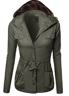 Military Jacket Parka Coat Outerwear Olive Size L Hooded Parka, Parka Coat, Parka Jackets, Hooded Coats, Best Parka, Military Parka, Look Good Feel Good, Motorcycle Jacket, Jackets For Women