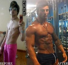 Ultimate Zyzz Transformation
