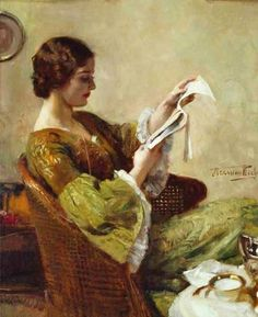 Hermann Jean Joseph Richir Young Woman Reading painting is shipped worldwide,including stretched canvas and framed art.This Hermann Jean Joseph Richir Young Woman Reading painting is available at custom size. People Reading, Book People, Reading Art, Woman Reading, Reading Books, Art Occidental, Books To Read For Women, Jean Marie, Book Letters