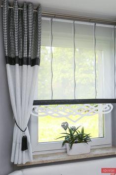 net curtains for bay window firany na wykusz ażury curtains for bay window openings - Bay Window Curtains, Net Curtains, Home Curtains, Kitchen Curtains, Window Coverings, Window Treatments, Rideaux Design, Custom Drapes, Curtain Designs