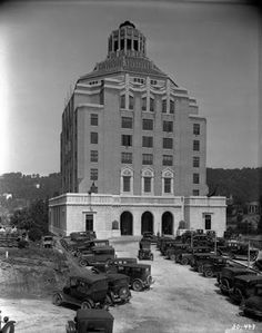 This is the Art Deco Asheville, NC City Hall in my neck of the woods.