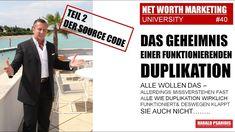 NWM & DIRECT SELLING NEWS #40 - DER HINTERGRUND DER DUPLIKATION Direct Selling, Direct Sales, Marketing, Tv, Memes, Tvs, Meme, Television Set