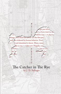 """19. """"Catcher In The Rye"""" Poster Print  on 100 Lb. Cardstock"""