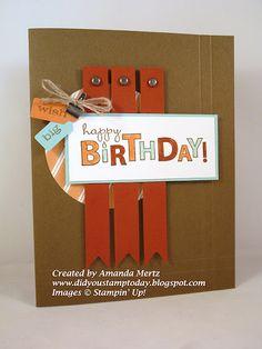 Birthday card.