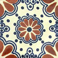 """Mexican Tile """"Madrid Red"""""""