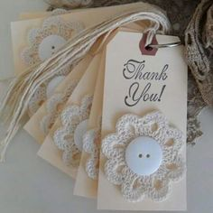 Log in to your Etsy account. Book Markers, Handmade Gift Tags, Paper Tags, Button Crafts, Crochet Gifts, Crochet Accessories, Card Tags, Tag Art, Creative Crafts