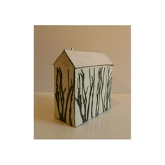 Ceramic houses by Mary Fischer