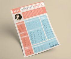 FREE Web Design Stuff creative free printable resume templates