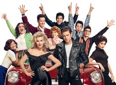 Grease Live from 15 TV Events We're Most Excited For in 2016  We've been practicing our best hand jive in hopes of being ready for Fox's first foray into live musical theater with Grease Live on Jan. 31. We can't wait to see Aaron Tveit and Julianne Hough do their best Danny and Sandy, and we know we can't be the only ones. Bonus points for casting You're the Worst scene-stealer Kether Donohue as goofy Pink Lady Jan!PHOTOS: The 10 best TV shows of 2015