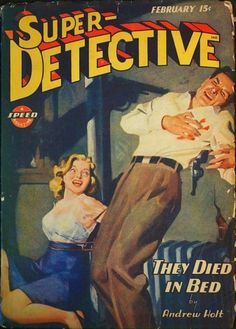 Super Detective, Feb. 1945 H.J. Ward