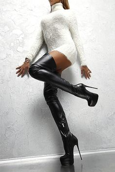 THIGH HIGH BOOTS are just bomb ass sexy