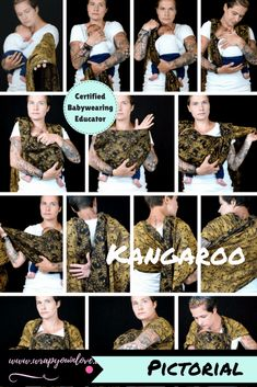 Pictorial: Kangaroo carry - Wrap you in love