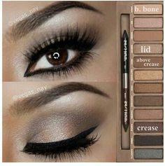 Urban Decay Naked 2 eyeshadow look with house of lashes -pixielux