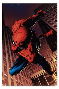 Amazing Spider-Man - Limited Edition Artist Proof Giclee on Canvas by Joe Quesada and Marvel Comics Hand Signed by Stan Lee Marvel Comics, Bd Comics, Ms Marvel, Marvel Art, Marvel Heroes, Comic Book Characters, Comic Book Heroes, Marvel Characters, Comic Character