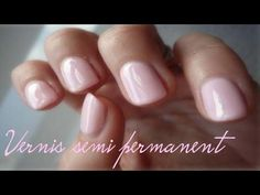 Comment poser du vernis semi permanent soi-même - Cristal Cos - YouTube