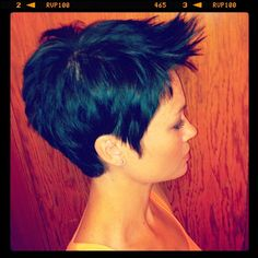 side view of a short cut....love the look