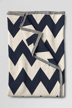 Chevron Stripe Throw #luvocracy #chevron #design