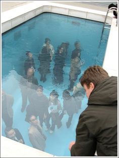 You know you're not seeing things deep enough when your shallow peers come visit.